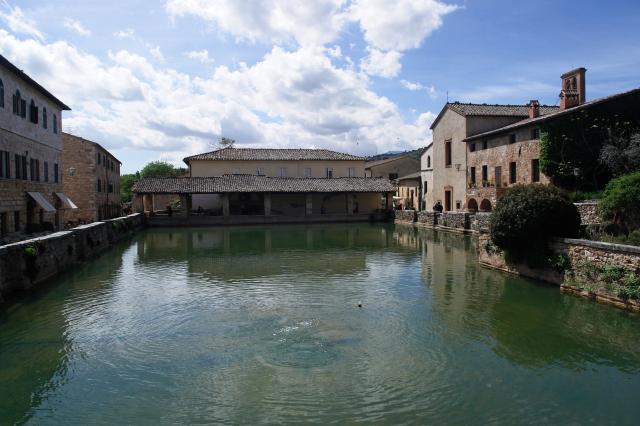 Bagno Vignoni Parco dei Mulini
